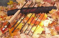 March Brown travel fly rod