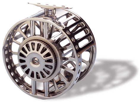 The Hardy Zane Ti (Titanium) Reel --  $10,000 -- Titanium is self-healing. Scratch it and the raw metal oxidizes in minutes. Because titanium is inert, nothing can rust it.