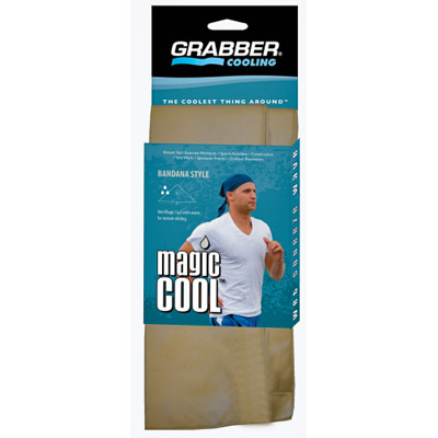 Grabbe Magic Cool Bandana also available in cloth style