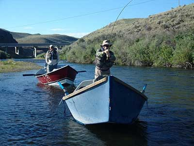Floating one of Montana's premier fishing rivers
