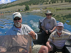 Guide Griz with anglers Ken & Kyle