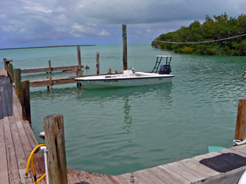 Islamorada flats boat catches tarpon, redfish, permit, bonefish, etc.