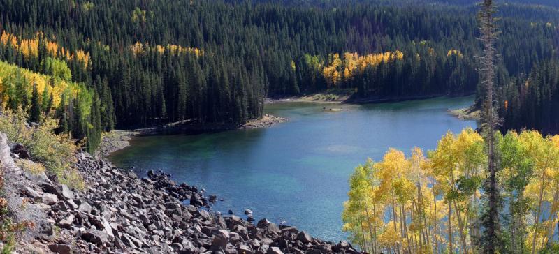 Frand Mesa Lake