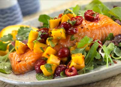 Another (not llisted) salmon recipe we've tried.  It's delicious as well.