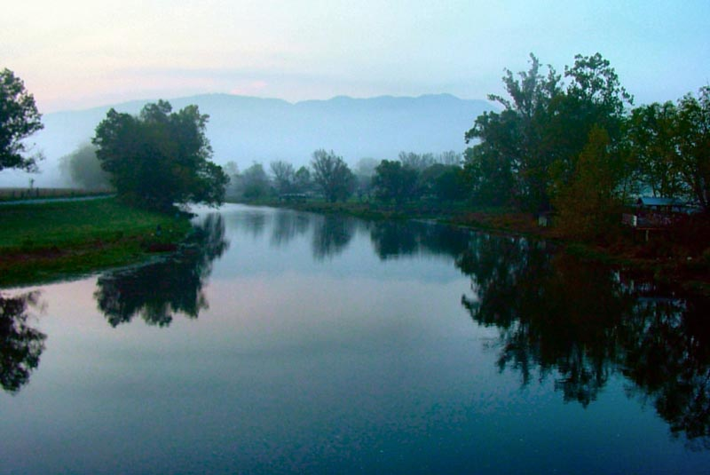 Morning on the Watauga