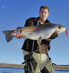world record rainbow trout