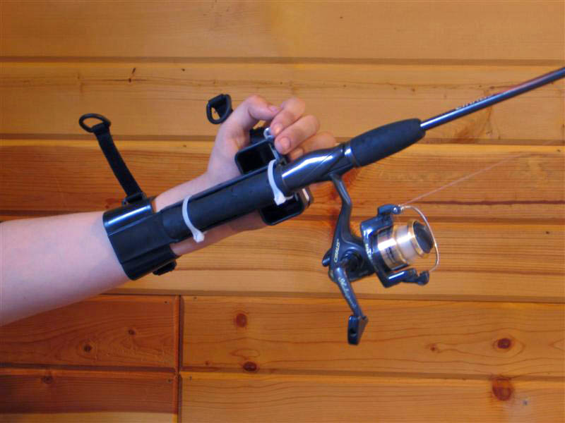 adaptive rod holder