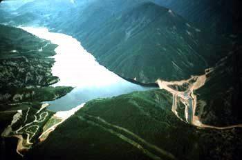 Ruedi Reservoir Dam