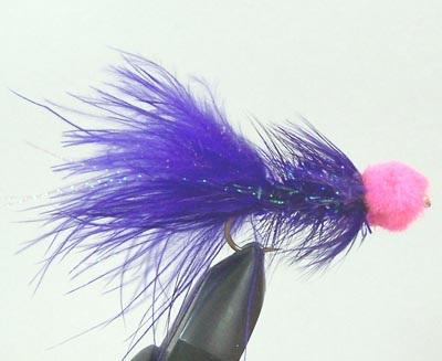 PURPLE WOOLY BUGGER