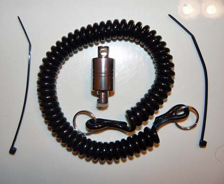 Brodin Magnetic Net Release with Coiled Lanyard