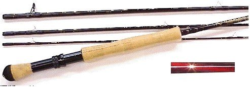 Elkhorn rod with fighting butt and full wells grip